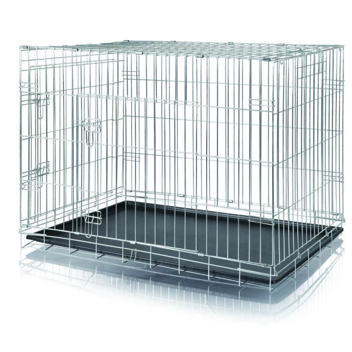 TRIXIE Cage de transport pour chien 109×79×71 cm 2
